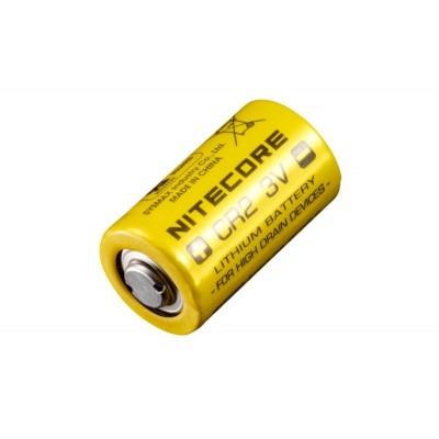 Батарейка для лазерного дальномера литиевая Li-Ion CR2 Nitecore 3V (850mAh) (04711)