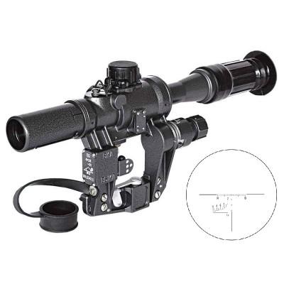 Оптический прицел ПО 4x24 с подсветкой (02157)