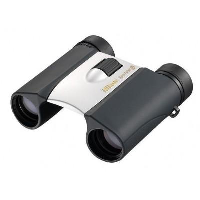 Бинокль Nikon Sportstar EX 10x25 DCF серебристый (02982)