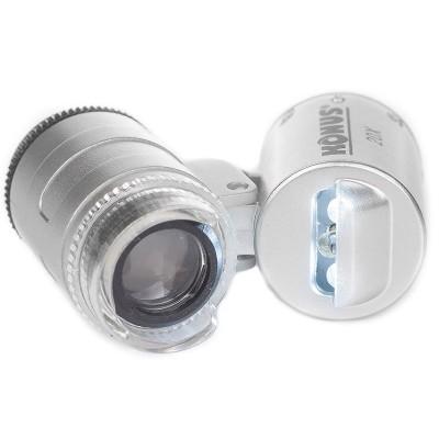 Карманный микроскоп Konus KonusClip-2 20x с адаптером для смартфона (3711)