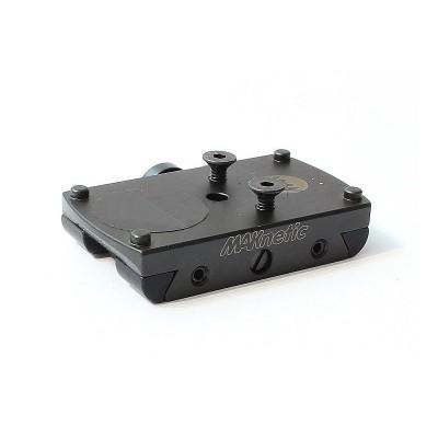 Адаптер MAKnetic для Docter / Burris / Meosight / Zeiss / Trijicon на планку 12 мм (3012-9000) (04369)