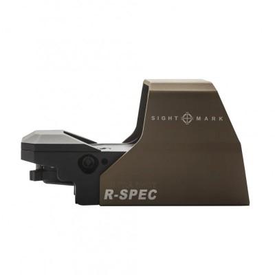 Коллиматорный прицел Sightmark Ultra Shot R-Spec DE 1x33x24 точка 3 и 5 MOA на Weaver (SM26031-DE) (05745)