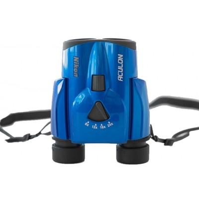 Бінокль Nikon Aculon T11 8-24x25 Zoom синій (04183)