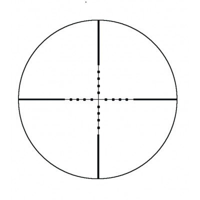 Оптический прицел Konus KonusPro 6-24x44 Mil-Dot АО (03807)