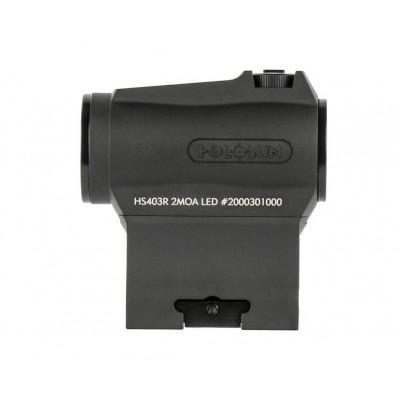 Коллиматорный прицел Holosun Micro Elite HS403R 2 MOA на Weaver (04737)