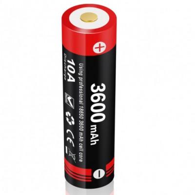 Акумуляторна батарея LiR 18650 Klarus 18GT-36UR 3600mAh 3.6V (18GT-36UR) зарядка через micro-USB (05847)