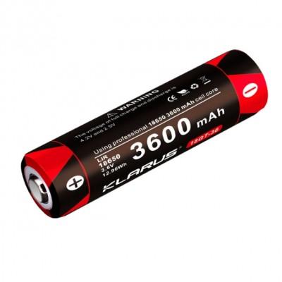 Аккумуляторная батарея LiR 18650 Klarus 18GT-36 3600mAh 3.6V (18GT-36) (05848)