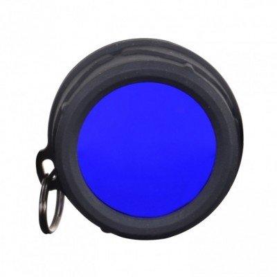 Светофильтр колпачковый синий Klarus FT11 для тактических фонарей Klarus XT10/XT11/XT12/XTQ1/XT11S/XT11GT/RS11 (KLR-FT11-BL) (05853)