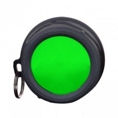 Светофильтр колпачковый зеленый Klarus FT11 для тактических фонарей Klarus XT10/XT11/XT12/XTQ1/XT11S/XT11GT/RS11 (KLR-FT11-GR) (05854)