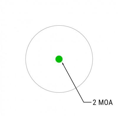 Коллиматорный прицел Holosun Micro Elite HE403B-GR 2 MOA на Weaver (04438)