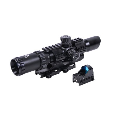 Оптический прицел Trinity Force 1-4x28 Mil-Dot IR SF (05013)