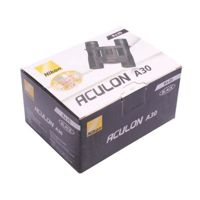 Бінокль Nikon Aculon A30 8x25 чорний (04190)