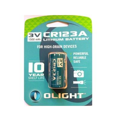 Батарея літієва Olight CR123A 3.0v 1500mAh (04148)