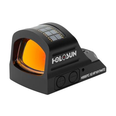 Коллиматорный прицел Holosun Open Reflex HS507C X2 2 MOA Shake Awake (06933)